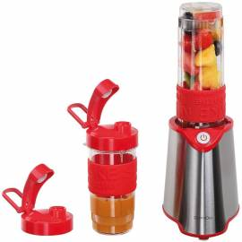 Le tout Smoothy -Le Blender individuel rouge