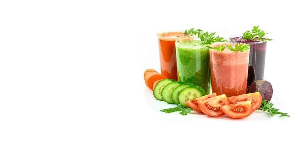 Nouveau concept santé par les jus de fruits & légumes